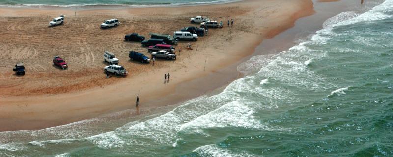 Cape Hatteras National Seashore Aerial View