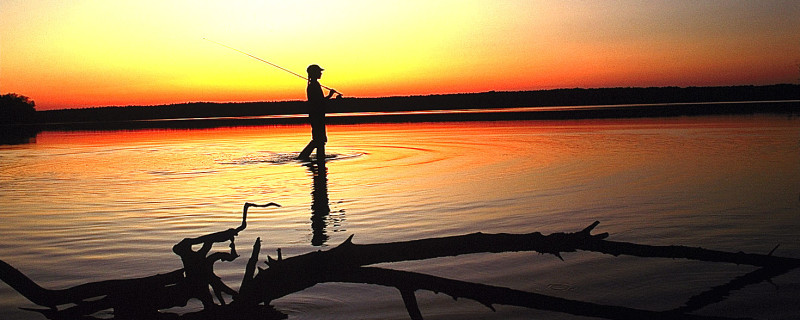 Fishing at Jordan Lake State Recreation Area (1)